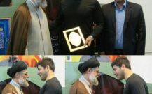 امام جمعه بندرانزلی در دیدار دارنده مدال طلای پارالمپیک