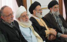 گزارش تصویری/ حضور رئیس شورای سیاست گذاری ائمه جمعه کشور و امام جمعه انزلی در مراسم یوم الله ۸ دی رشت
