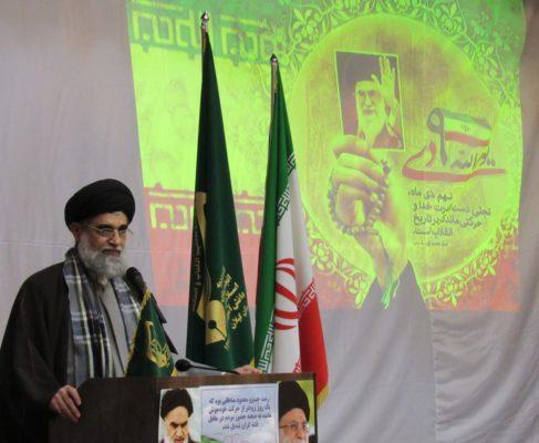 گزارش تصویری / حضور امام جمعه انزلی در همایش بزرگ بصیرت بخش خشکبیجار