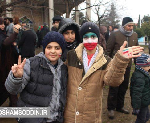 گزارش تصویری / راهپیمایی با شکوه ۲۲ بهمن در انزلی