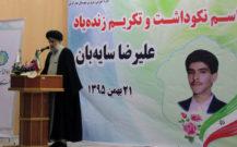 گزارش تصویری / مراسم نکوداشت و تکریم علیرضا سایه بان