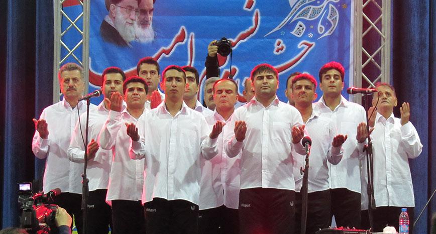 گزارش تصویری / جشن گلریزان زندانیان در منطقه آزاد انزلی