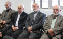 دیدار نوروزی اعضای حزب مؤتلفه اسلامی انزلی با امام جمعه شهرستان