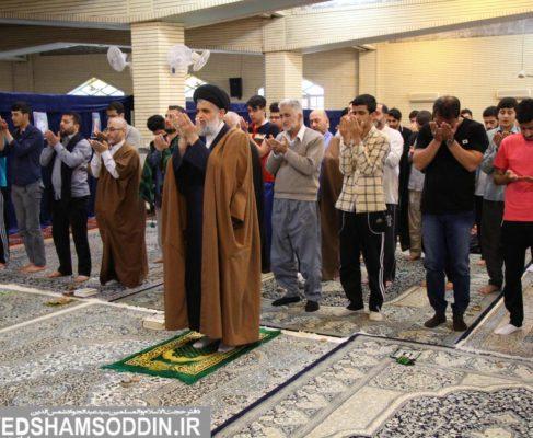 گزارش تصویری/اولین روز اعتکاف جوانان در مصلی بندرانزلی