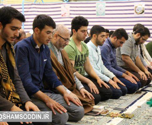 گزارش تصویری/دومین روز اعتکاف جوانان در مصلی بندرانزلی