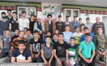 گزارش تصویری/بازدید امام جمعه از اعتکاف شهرستان بندرانزلی
