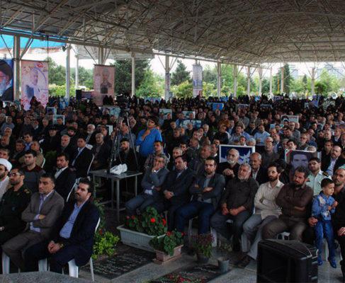 گزارش تصویری / اولین سالگرد شهادت سردار خان طومان، شهید جواد دوربین