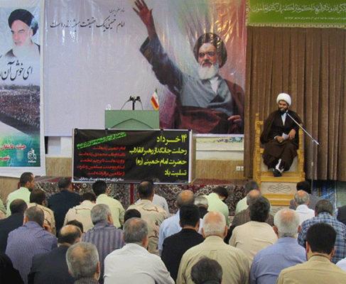 گزارش تصویری/ مراسم ارتحال امام در مصلی بزرگ انزلی