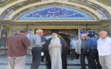 گزارش تصویری/بازدید امام جمعه از مساجد بی بی حوریه،ولی عصر و قائمیه
