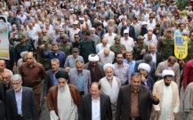 گزارش تصویری از حضور پر شور مردم انزلی در راهپیمایی روز قدس(۱)