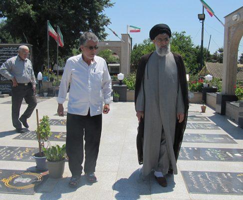 گزارش تصویری/ بازدید امام جمعه از مساجد قارویر، نویر و کلویر