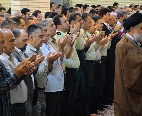 گزارش تصویری/ نماز عید سعید فطر در مصلی بزرگ بندرانزلی