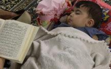 گزارش تصویری/ مراسم ویژه شب ۲۱ ماه رمضان در مصلی بزرگ انزلی