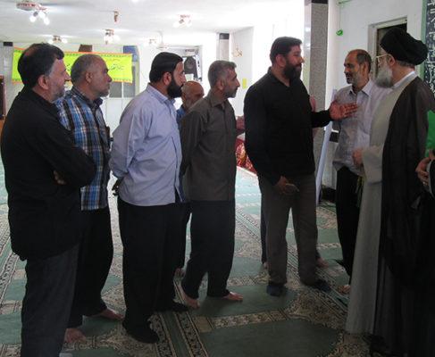 گزارش تصویری/ بازدید امام جمعه از مساجد لیجارکی،شهدای حسن رود و صاحب الزمان