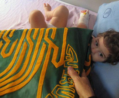 گزارش تصویری/ خدام حضرت رضا به عیادت بیماران بیمارستان و سالمندان انزلی رفتند