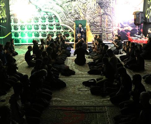 گزارش تصویری / مراسم شب سیزدهم محرم در مصلی بزرگ بندرانزلی