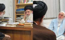 امام جمعه بندرانزلی با حضرات آیات قربانی و رودباری دیدار کرد