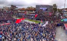 گزارش تصویری / چهارمین اجتماع بزرگ مردم انزلی در روز اربعین حسینی