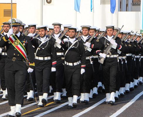 گزارش تصویری/ صبحگاه و رژه دریادلان نیروی دریایی در انزلی