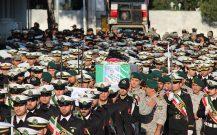 گزارش تصویری / تشییع نظامی پیکر شهید بیژن زارع در ناوگان شمال