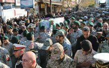 گزارش تصویری / تشییع عمومی پیکر شهید بیژن زارع در بندرانزلی