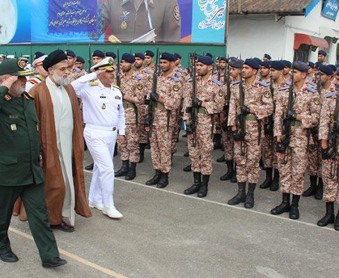 گزارش تصویری از صبحگاه مشترک نیروهای مسلح استان گیلان