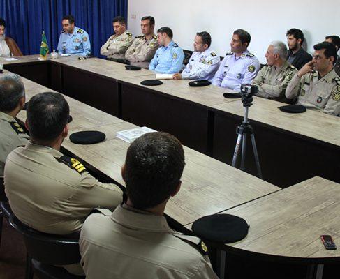 دیدار دانشجویان دانشکده فرماندهی و ستاد ارتش با امام جمعه انزلی