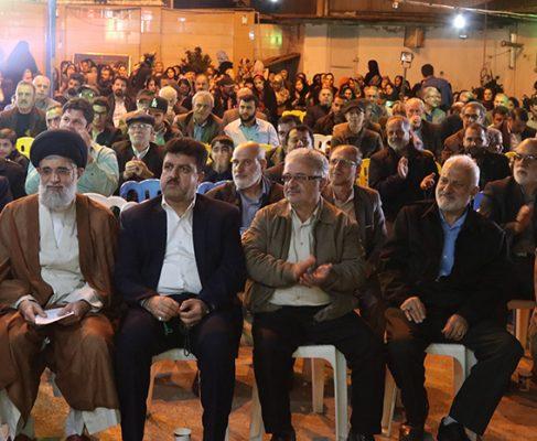 گزارش تصویری از جشن نیمه شعبان در مسجد گلشن
