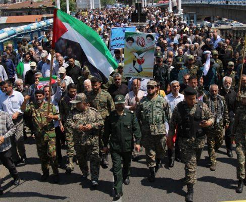 گزارش تصویری راهپیمایی باشکوه روز قدس در بندرانزلی
