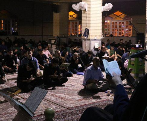 گزارش تصویری مراسم شب های قدر در مصلی بزرگ انزلی