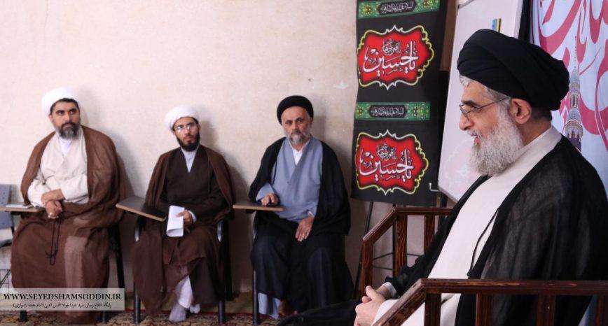گزارش تصویری از دیدار امام جمعه بندر انزلی با طلاب شهرستان