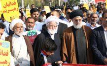 گزارش تصویری راهپیمایی مردم بندر عباس درسالروز حماسه ۹ دی//