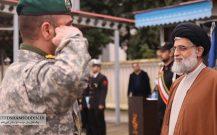 گزارش تصویری مراسم صبحگاه مشترک نیروهای مسلح شهرستان بندرانزلی//