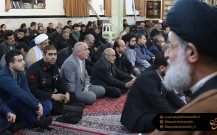 گزارش تصویری مراسم یادبود آیت الله هاشمی شاهرودی در بندر انزلی//