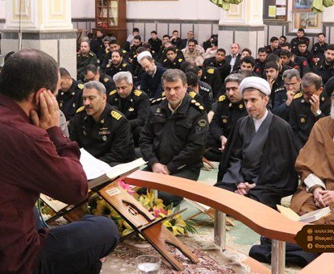 ترویج فرهنگ قرآنی در نیروهای مسلح از برکات انقلاب اسلامی است+ تصاویر//