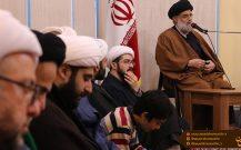 گزارش تصویری دیدار روحانیون بندر انزلی با امام جمعه این شهرستان//
