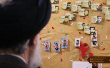 گزارش تصویری بازدید امام جمعه بندر انزلی از نمایشگاه مدرسه انقلاب دانش آموزان این شهرستان//