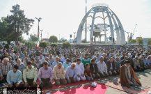 نماز باشکوه عید سعید فطر در بندرانزلی+تصاویر (۱)