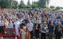نماز باشکوه عید سعید فطر در بندرانزلی+تصاویر (۲)