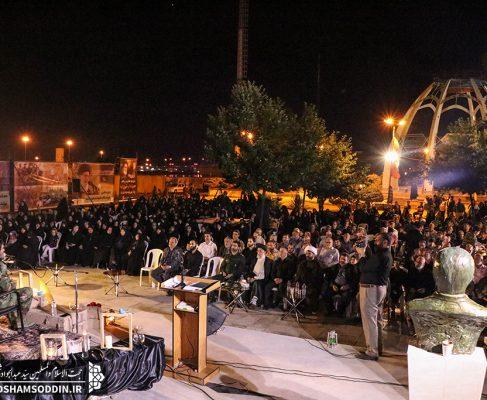 مراسم بزرگداشت سی امین سالگرد ارتحال امام (ره) و پنجمین سالگرد تدفین شهدای گمنام در بندرانزلی+تصاویر