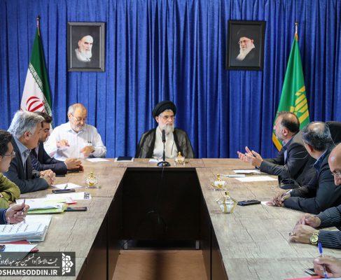گزارش تصویری/ دیدار اعضای شورای اسلامی و شهردار انزلی با امام جمعه شهرستان