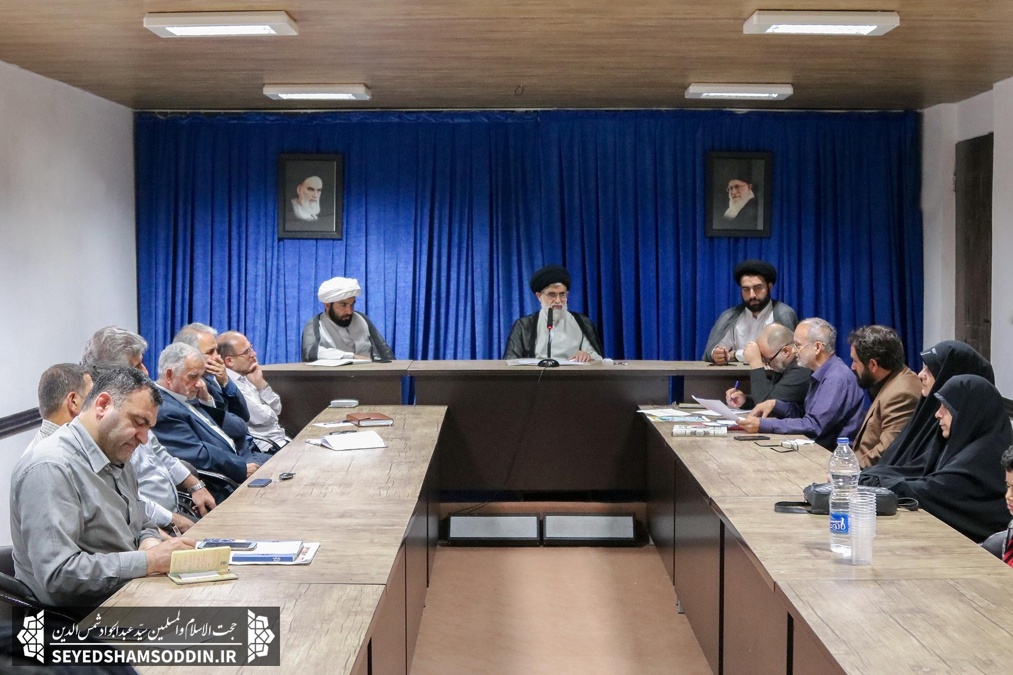 سومین نشست ستاد برگزاری غدیر شهرستان