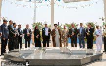 گلباران مزار شهدای گمنام به مناسبت هفته دولت