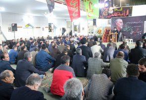 سخنرانی امام جمعه بندرانزلی در مراسم سوگواری شهادت سردار سلیمانی در منطقه آزاد انزلی