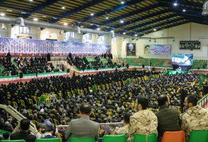 سخنرانی امام جمعه بندرانزلی در اجتماع بزرگ عزاداران و ارادتمندان سپهبد شهید حاج قاسم سلیمانی در لاهیجان