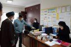 حضور امام جمعه بندرانزلی در شبکه بهداشت و درمان شهرستان