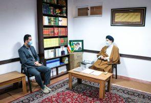 دیدار رئیس جدید اداره برق شهرستان با امام جمعه بندرانزلی