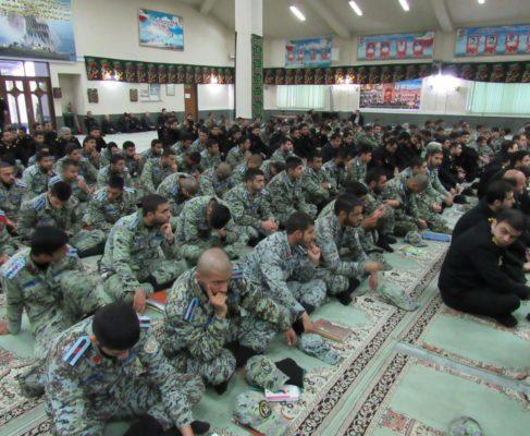 گزارش تصویری / مراسم ارتحال حضرت رسول در مرکز آموزش باقرالعلوم نداجا