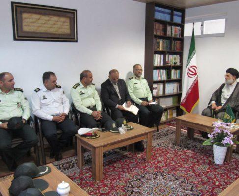 گزارش تصویری / دیدار با فرمانده نیروی انتظامی استان گیلان