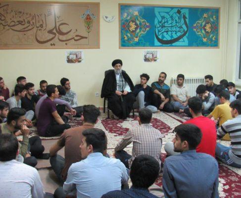 گزارش تصویری / سخنرانی امام جمعه انزلی در جمع دانشجویان دانشگاه خدادادی